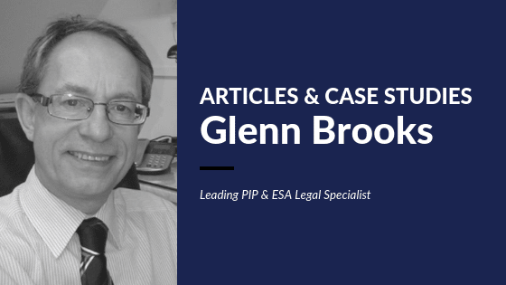 DISABILITY CLAIMS-GLENN-BROOKS-ARTICLES & CASE STUDIES