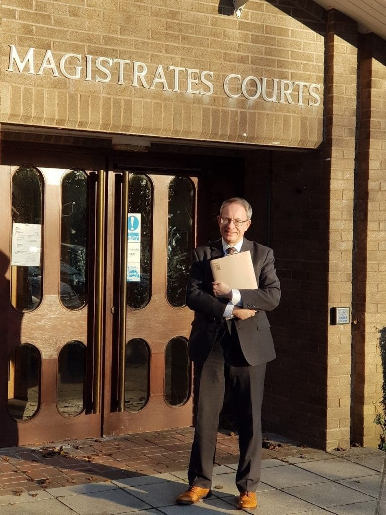 Glenn Brookes - Disability Claims at Cornwall Magistrates Court